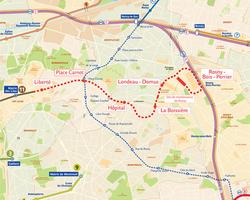 France: Paris metro line 11 extension