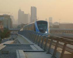 United Arab Emirates: Metro of Dubai