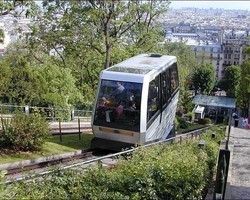 France: Montmartre funicular