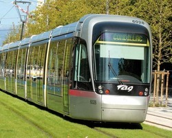 FRANCE: LIGHT RAIL TRAIN OF GRENOBLE