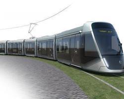 FRANCE: LIGHT RAIL TRAIN OF CAEN