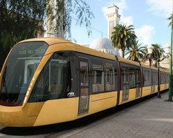 ALGERIA: LIGHT RAIL TRAIN OF SIDI BEL ABBES