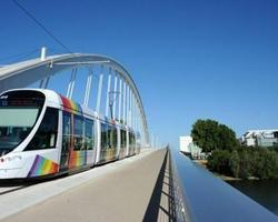 FRANCE: ANGERS TRAMWAY